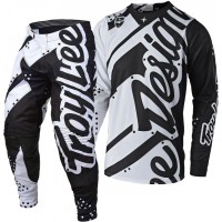 Troy Lee Designs Shadow TLD MX SE Motocross Gear White Black