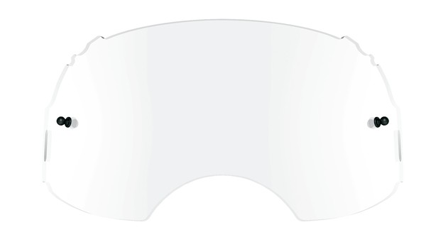 7b5f64f9a3 Oakley Airbrake Genuine Replacement Lenses Clear or Dark Grey ...