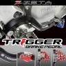 Zeta Trigger Adjustable Rear Brake Lever Pedal Yamaha YZ/YZF Motocross