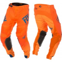 2019 Fly Racing Hydrogen Lite Motocross Pants Navy Orange 36 ONLY