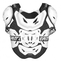 Leatt 5.5 Pro Body Armour Adult White ACU CE Approved EN1621