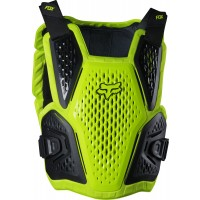 2020 Fox Raceframe Impact Motocross Body Armour Flo Yellow