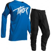 Thor Sector Link Motocross Gear BLACK BLUE