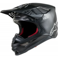 Alpinestars Supertech SM-10 SM10 Motocross Helmet Matt Black Carbon