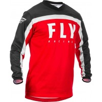 2020 Fly Racing F16 Youth Kids Motocross Jersey Red Black White