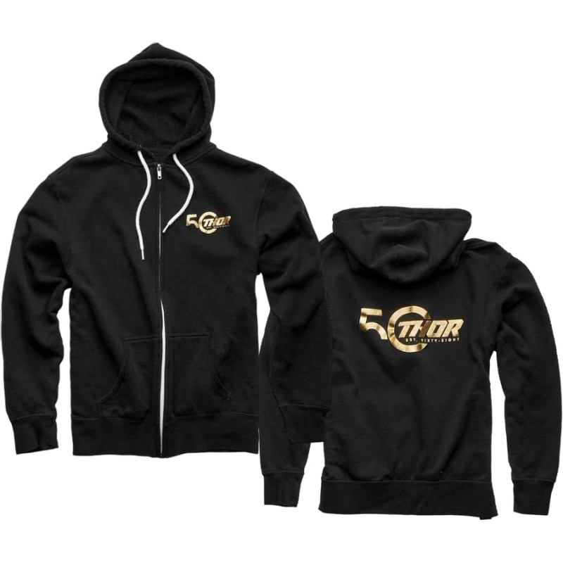 Thor 50th Anniversary Limited Edition Zip Hoody Black