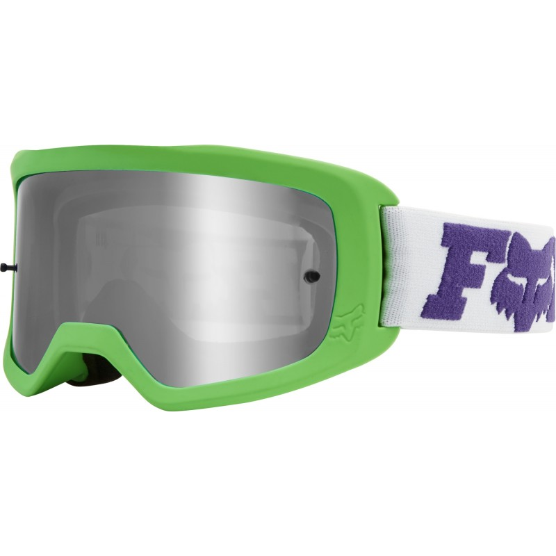 Fox Main 2.0 Spark Mirrored Lens Kids Youth Motocross Goggles LINC Multi