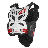 Alpinestars A10 ACU CE Approved EN1621 Body Armour White Red