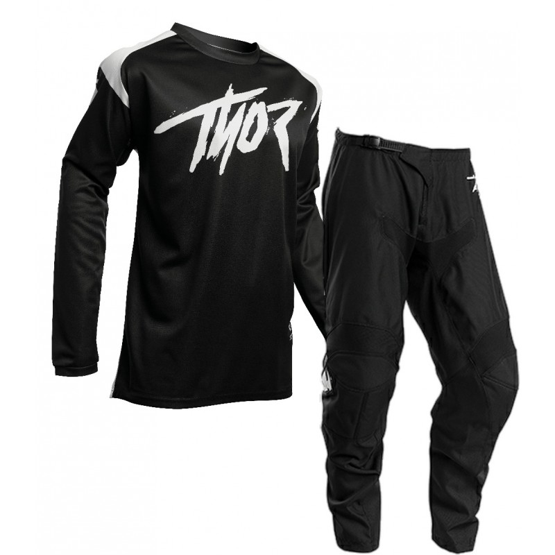 2020 Thor Sector Link Motocross Gear BLACK WHITE 28 or 30 ONLY