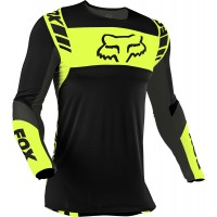 2021 Fox Flexair Motocross Jersey MACH ONE FLO YELLOW