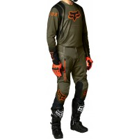 2021 Fox Legion Air KOVENT Special Edition Enduro Offroad Gear Olive Green