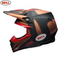 Bell Moto 9 Carbon Flex Motocross Helmet Vice Copper Black LARGE ONLY