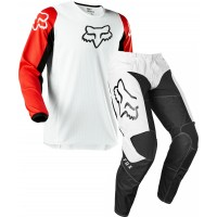 2020 Fox 180 Motocross Gear PRIX WHITE RED 30 ONLY