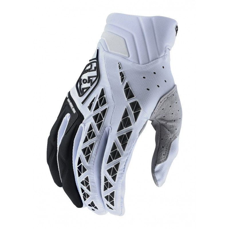 Troy Lee Design TLD SE Pro Motocross Gloves White