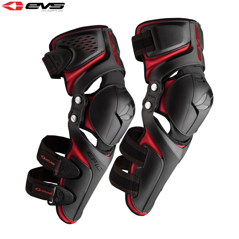 EVS Epic Motocross Enduro Knee Guards Adult