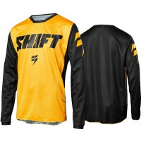 2018 Shift WHIT3 Label Ninety Seven Kids Youth Motocross Jersey YELLOW XL ONLY