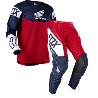 2021 Fox 180 HONDA Motocross Gear NAVY RED