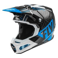 Fly Racing Formula Carbon Motocross Helmet Blue White Black XS or SMALL ONLY