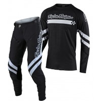 2020 Troy Lee Designs TLD SE ULTRA Motocross Gear FACTORY BLACK WHITE
