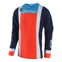 Troy Lee Designs Squadra TLD MX SE Motocross Jersey Navy Orange MEDIUM ONLY