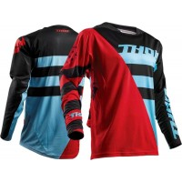 Thor Fuse Air RIVE Motocross Jersey RED BLUE