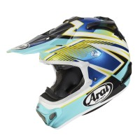 8755d9c2 Arai MX-V Motocross Helmet MXV DAY Blue