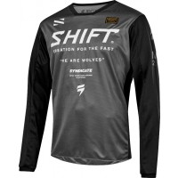 2019 Shift WHIT3 Label MUSE Kids Youth Motocross Jersey SMOKE GREY