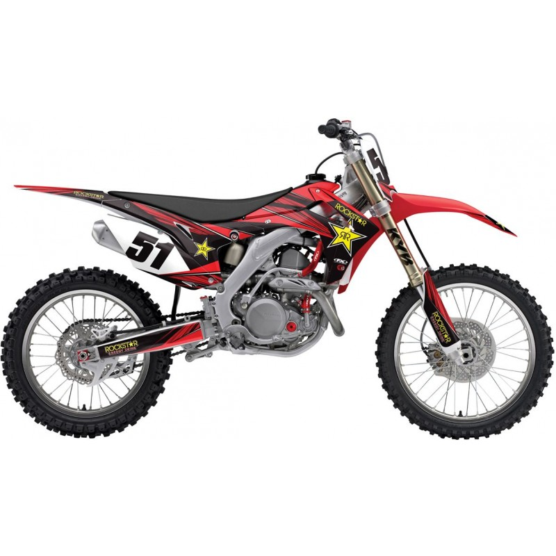 Honda Rockstar CR125/250 Motocross Team Graphics Kit