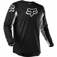 2020 Fox 180 Motocross Jersey PRIX BLACK WHITE