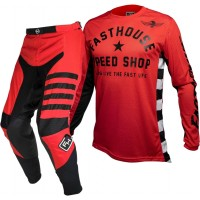 Fasthouse SPEEDSTYLE Motocross Gear RED ORIGINAL AIR COOLED RED
