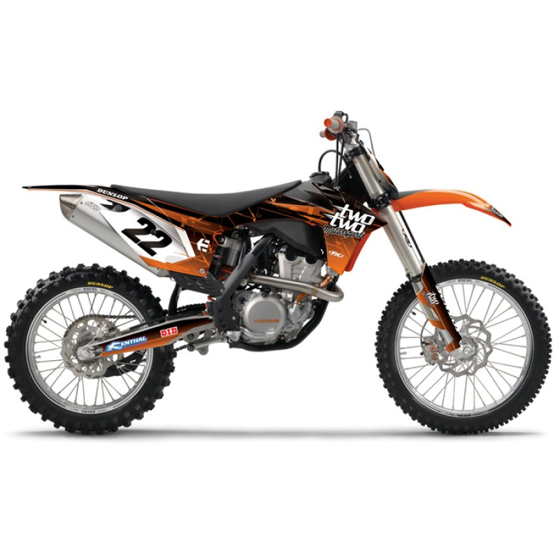 KTM Two Two Motorsport Motocross Graphics Kit