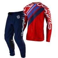 2020 Troy Lee Designs TLD MX SE Pro Air Motocross Gear SECA 2.0 RED NAVY