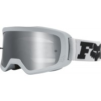 Fox Main 2.0 Spark Mirrored Lens Kids Youth Motocross Goggles LINC Light Grey