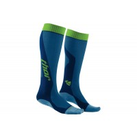 Thor MX Adult COOL THIN Motocross Socks Blue Green PER PAIR