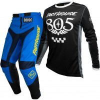 Fasthouse GRINDHOUSE Motocross Gear BLUE 805 BLACK 28 or 38 ONLY