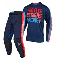 Troy Lee Designs PREMIX Youth Kids TLD GP Air Motocross Gear NAVY 24 ONLY