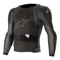 Alpinestars Sequence Body Armour Suit Long Sleeved Jacket ACU APPROVED BLACK SMALL ONLY