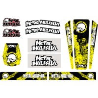 Metal Mulisha Accessory Trim Graphics Kit Suzuki