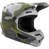 2020 Fox V1 PRZM Youth Kids Motocross Helmet CAMO