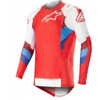 2019 Alpinestars Supertech Red White Motocross Jersey