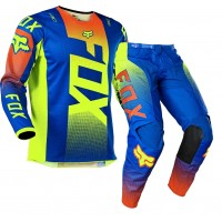 2021 Fox 180 Youth Kids Motocross Gear OKTIV BLUE