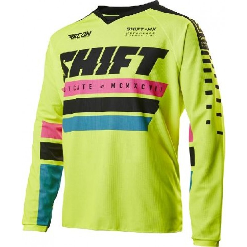 Shift Recon Freestyle Motocross Jersey Phoenix Yellow XXL ONLY