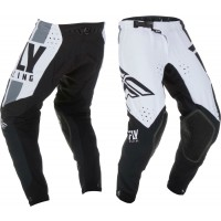 2019 Fly Racing Evolution Motocross Pants Black White