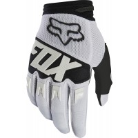 Fox Dirtpaw RACE Motocross Gloves WHITE