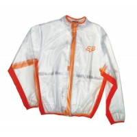 Fox Fluid Rain Jacket ORANGE