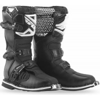 Fly MX Maverik Kids Youth Motocross Boots Black