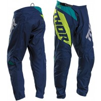 2020 Thor Sector BLADE Youth Kids Motocross Pants NAVY ACID