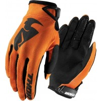 Thor Sector Kids Youth Motocross Gloves ORANGE