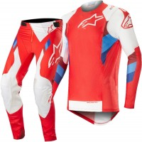 2019 Alpinestars Supertech Red White Motocross Gear