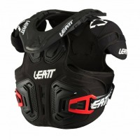 Leatt Fusion 2.0 Junior Youth Kids Motocross Neck Brace Armour Black